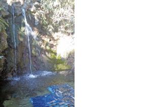 出流山の滝壺